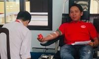 Cán bộ, đoàn viên Quảng Trị sôi nổi hiến máu an toàn đẩy lùi COVID