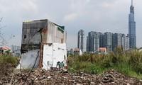 Khu 4,3 ha nằm ngoài quy hoạch khu đô thị Thủ Thiêm nhưng nhà đất của 321 hộ dân vẫn bị cưỡng chế giải tỏa.