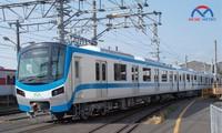 Chuẩn bị đón tàu metro về chạy thử ở TPHCM