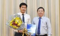 Bổ nhiệm Trưởng ban Quản lý các Khu chế xuất và Công nghiệp TPHCM