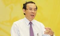Ông Nguyễn Văn Nên – Bí thư Trung ương Đảng, Bí thư Thành ủy TPHCM.