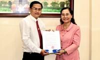 Ông Cao Thanh Bình làm Chánh Văn phòng Đoàn Đại biểu Quốc hội và HĐND TPHCM