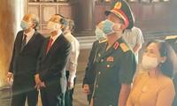 Phó Thủ tướng Trương Hòa Bình, Bí thư Nguyễn Văn Nên họp mặt truyền thống cách mạng ở TPHCM
