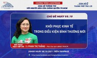 20h tối nay: Lãnh đạo TPHCM đối thoại với người dân về khôi phục kinh tế