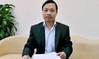 Ông Trần Tiến Dũng, Chánh văn phòng Bộ Tư pháp. (Ảnh website của Bộ Tư pháp).