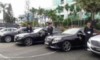 Một doanh nghiệp vừa tiết lộ đã đầu tư 50 tỷ đồng đầu tư các dòng xe Mercedes, BMW đời mới về Việt Nam để kinh doanh tại TP HCM. Ảnh: Vũ Lê