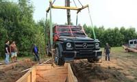 Mercedes G500 trở thành một chiếc boongke đặc biệt. Ảnh: Autoevolution.
