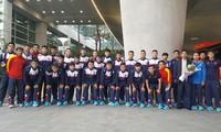 Mục kích U20 Việt Nam đến Hàn Quốc, chuẩn bị đá World Cup