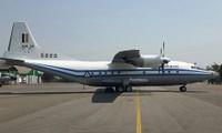 Chiếc Y-8F-200 số hiệu 5820 trước khi gặp nạn. Ảnh: Irrawaddy.