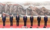 7 thành viên Thường vụ Chính trị Đảng Cộng sản Trung Quốc khóa 19. (Ảnh: Tân Hoa xã)