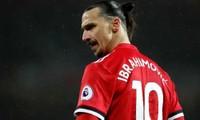 Ibrahimovic có thể tham dự trận gặp Man City cuối tuần này. Ảnh: Reuters.
