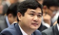 Ông Lê Phước Hoài Bảo, Giám đốc Sở kế hoạch đầu tư Quảng Nam, bị Ủy ban kiểm tra Trung ương yêu cầu xóa tên trong danh sách đảng viên. Ảnh: Đắc Thành.
