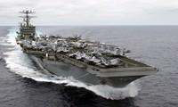 Tàu sân bay Mỹ USS Carl Vinson. Ảnh: Wikipedia commons.