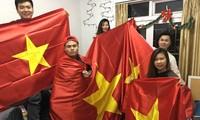 CĐV Việt Nam chuẩn bị kéo tới sân Thường Châu cổ vũ cho thầy trò HLV Park Hang Seo