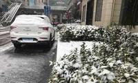 Mưa tuyết trắng xoá nơi U23 Việt Nam đá chung kết