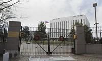 Đại sứ quán Nga tại thủ đô Washington, Mỹ. (Nguồn: AFP/TTXVN)