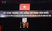 Toàn cảnh lễ viếng nguyên Thủ tướng Phan Văn Khải tại TPHCM và Hà Nội