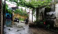 Lối vào căn nhà nhỏ của Trung tá Khuất Mạnh Trí ở thị xã Sơn Tây, Hà Nội