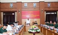 Phó Thủ tướng Trương Hòa Bình phát biểu tại cuộc làm việc - Ảnh: VGP/Lê Sơn