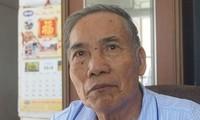 Thầy giáo Lê Kim Toàn. Ảnh: Lê Hoàng.