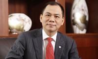 Ông Phạm Nhật Vượng đang sở hữu khối tài sản ròng 6,4 tỷ USD