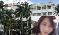 Nhiều sinh viên ĐH Văn hóa Hà Nội cho biết, nữ sinh Vân Anh nổi tiếng như một hotgirl của khoa, trường.