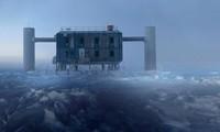 Hệ thống IceCube - nơi những hạt ma quỷ lần đầu được nắm bắt - ảnh do nhóm nghiên cứu và quản ký IceCube cung cấp