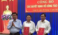Nhân sự mới Đà Nẵng, Long An, Lạng Sơn
