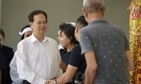 Nguyên Thủ tướng Nguyễn Tấn Dũng gửi lời chia buồn tới gia đình cố nghệ sĩ Chánh Tín
