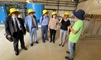 Đoàn công tác của Uỷ ban về người Việt Nam ở nước ngoài TPHCM đến thăm, chúc Tết tại Công ty TNHH Xử lý Chất thải Việt Nam.