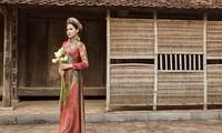 Diễn viên Phạm Hương nền nã trong bộ ảnh áo dài mới