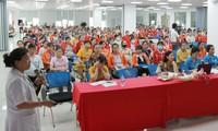 Gần 1.800 NLĐ được truyền thông về chăm sóc sức khỏe trong tháng 6.2020 tại Hải Phòng
