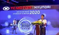 Ông Lê Ngọc Đức - Tổng giám đốc TC MOTOR phát biểu tại đêm trao giải