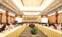 Toàn cảnh Diễn đàn tại Trung tâm Hội nghị Quốc tế, 35 Hùng Vương, Hà Nội