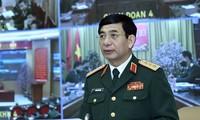 Thượng tướng Phan Văn Giang làm việc với 2 Tổng cục