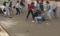 Xác minh nhóm nữ học sinh đánh nhau giữa lúc đang cách ly xã hội