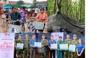 Tuổi trẻ Bình Phước tiếp sức cho học sinh, chiến sĩ vùng biên giới