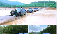 Ra mắt CLB xe bán tải vượt núi giúp dân