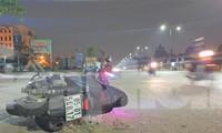 Điều tra vụ một sĩ quan quân đội bị xe máy tông tử vong gần trụ sở
