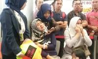 Người thân của các hành khách trên chuyến bay Lion Air