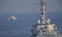 Nhóm tấn công do tàu sân bay USS John C. Stennis dẫn đầu. Ảnh: AP