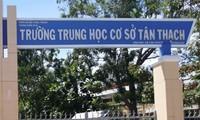 Sở GD&ĐT Bến Tre chỉ đạo xử lý vụ học sinh bóp cổ giáo viên