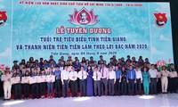 Tiền Giang tuyên dương 32 thanh niên làm theo lời Bác