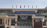 Trường THPT Đốc Binh Kiều nơi xảy ra sự việc. Ảnh: Trần Ngọc