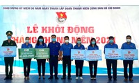 Gần 400 triệu đồng hỗ trợ an sinh xã hội trong ngày ra quân Tháng thanh niên