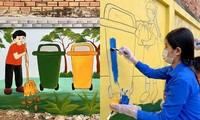 Bạn trẻ Cần Thơ biến bức tường cũ thành bích họa rực rỡ sắc màu