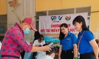 Hớt tóc miễn phí cho trẻ em khó khăn tại Cần Thơ