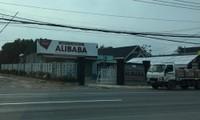 Trụ sở giao dịch của công ty Alibaba đóng tại huyện Long Thành