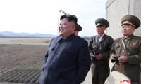Chủ tịch Triều Tiên Kim Jong Un trong một cuộc thị sátẢnh: KCNA
