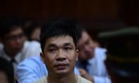 Bị cáo Văn Kính Dương tại phiên tòa chiều qua 14/5 Ảnh: Tân Châu